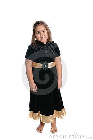 Child Wearing Dress