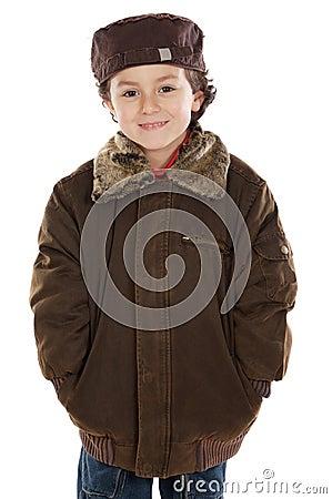 Child whit hat