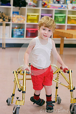 Free Child With Disability Royalty Free Stock Photography - 37558117