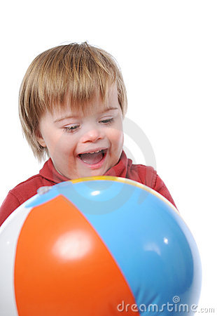 Free Child With Down Syndrome Royalty Free Stock Photography - 3847037