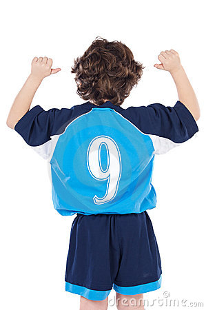 Free Child With Number Nine Royalty Free Stock Images - 4657399