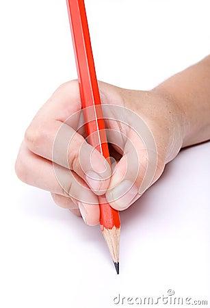 Child writing 3
