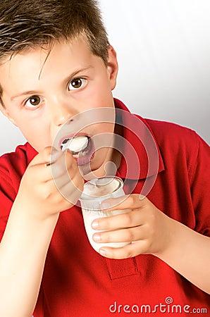 The child of yogurt 4