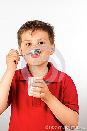 The child of yogurt 12
