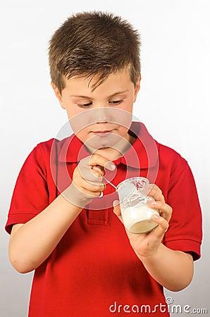 The child of yogurt 7