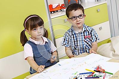 Childhood attention to their teacher