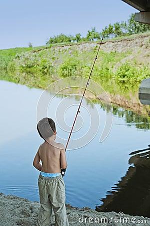 Childhood fishing addiction