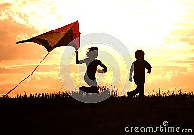 Childhood memories. Stock Photo