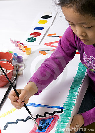 Free Childhood Painting 003 Royalty Free Stock Photos - 2221038