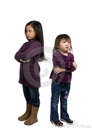 Childhood Series 5 (pouting)