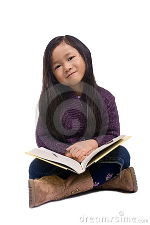 Childhood Series 8 (Reading a book)
