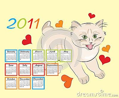 Childish calendar 2011