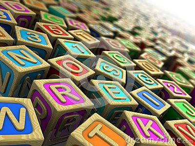 Childish cubes