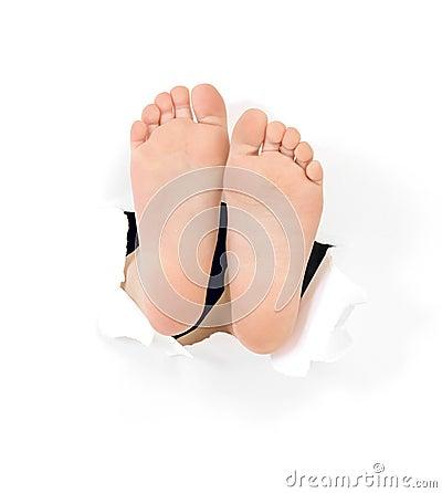 Childish foots