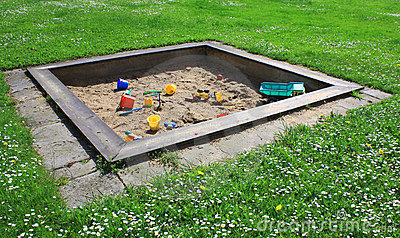 Children´s sand pit