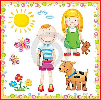 Free Children Stock Image - 9058821