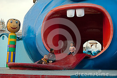Children amusement Editorial Photo