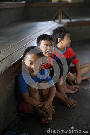 Children Angklung Ujo Pack music school in Bandung