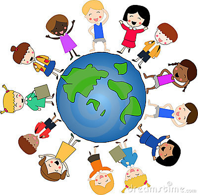 Free Children Around The World Royalty Free Stock Photography - 4945197