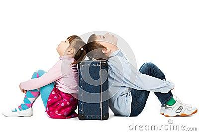 Children bored of travelling
