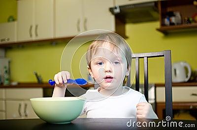Children breakfast