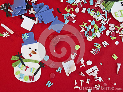 Children Christmas Craft Art Supplies and Material