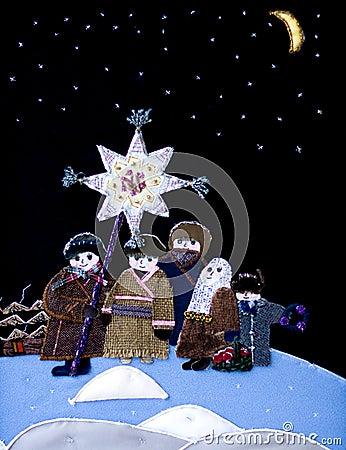 Free Children  Christmas Star Royalty Free Stock Photo - 11792555
