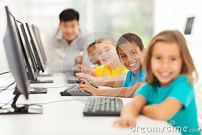 Children computer class