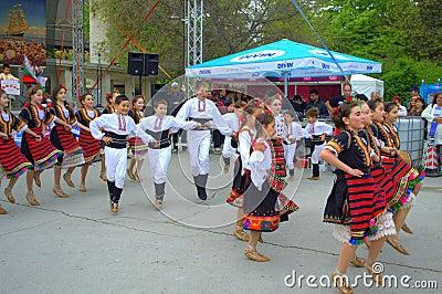 Children dance Editorial Photography