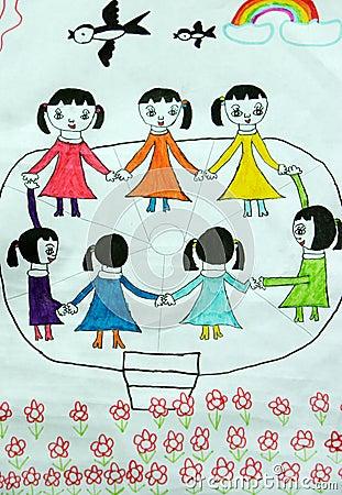 Free Children Dancing Royalty Free Stock Image - 5683746