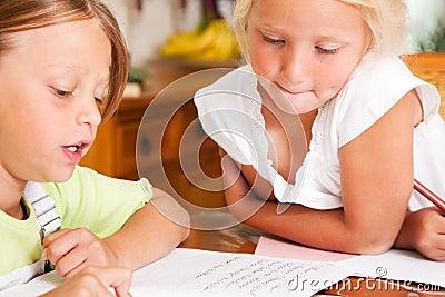 Deal child not doing homework