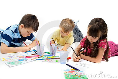Children Drawing