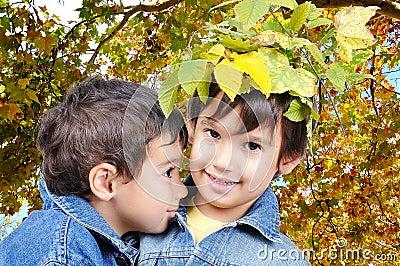Children, fall