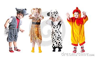 Children in fancy dress