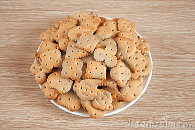 Children figured crackers