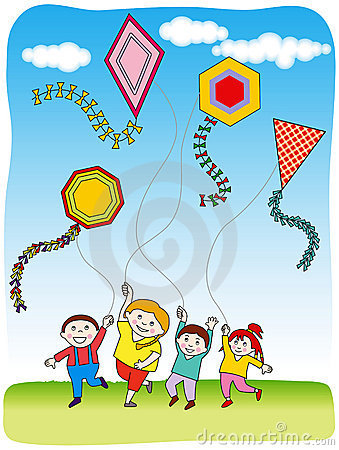 Flying Kites Pictures