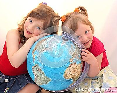 Children globe.