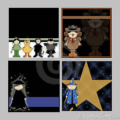 Children Halloween Backgrounds