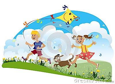 Children having fun