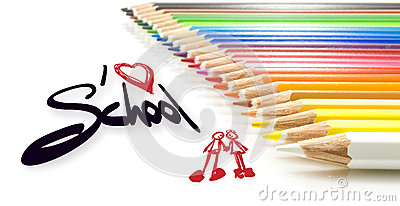 Children, I love school