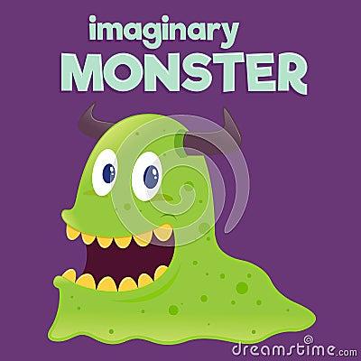 Free Children Imaginary Slug Monster Royalty Free Stock Photo - 65842955