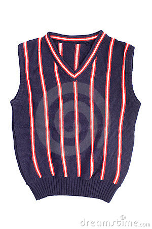 Children knitted vest