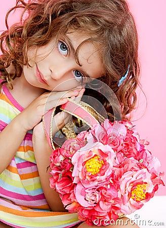 Children little fashion girl