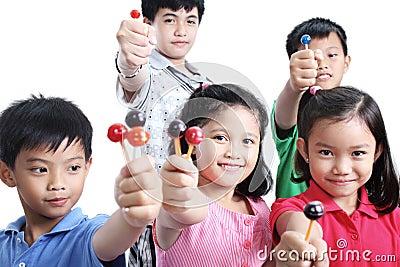 Children And Lollipops