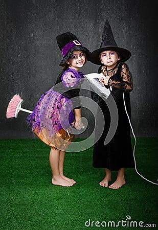Children magic broom problem