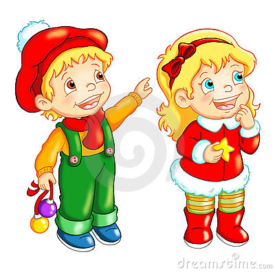 Children, Merry Christmas