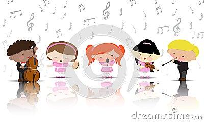Children - musicians