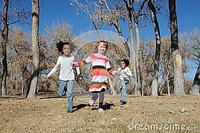 Children outdoors