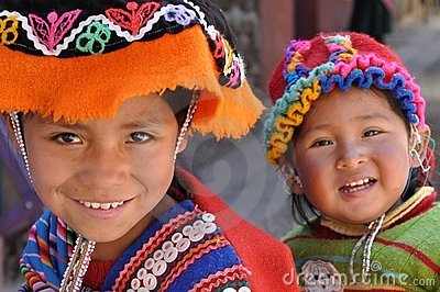 Children from Peru Editorial Photo