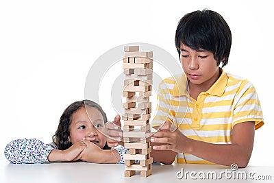 Children play